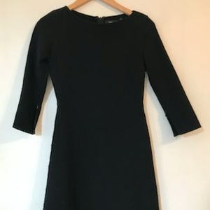 Theory Fit and Flare Minidress